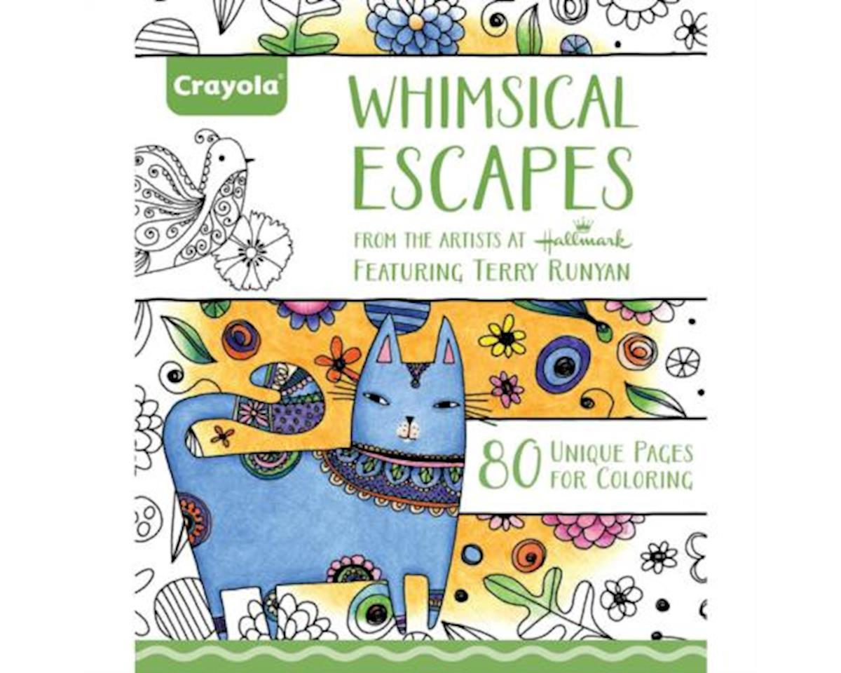 Crayola Llc Coloring Book Whimsical Escapes