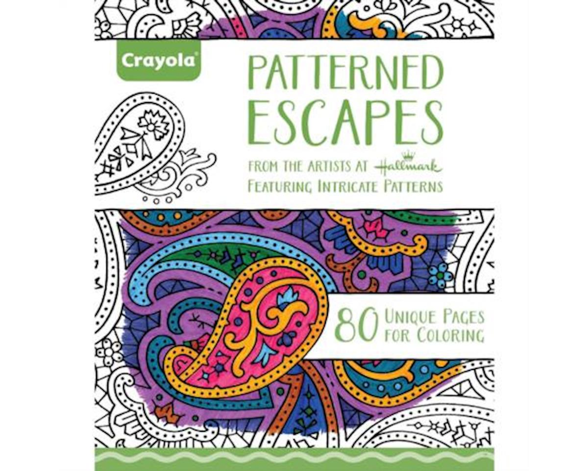 Crayola Llc Coloring Book Patterned Escapes