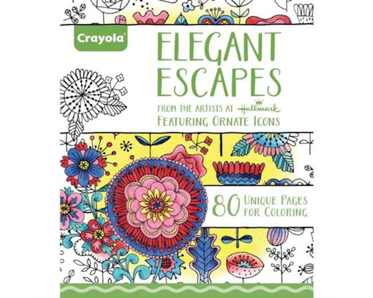 Crayola Llc Coloring Book Elegant Escapes