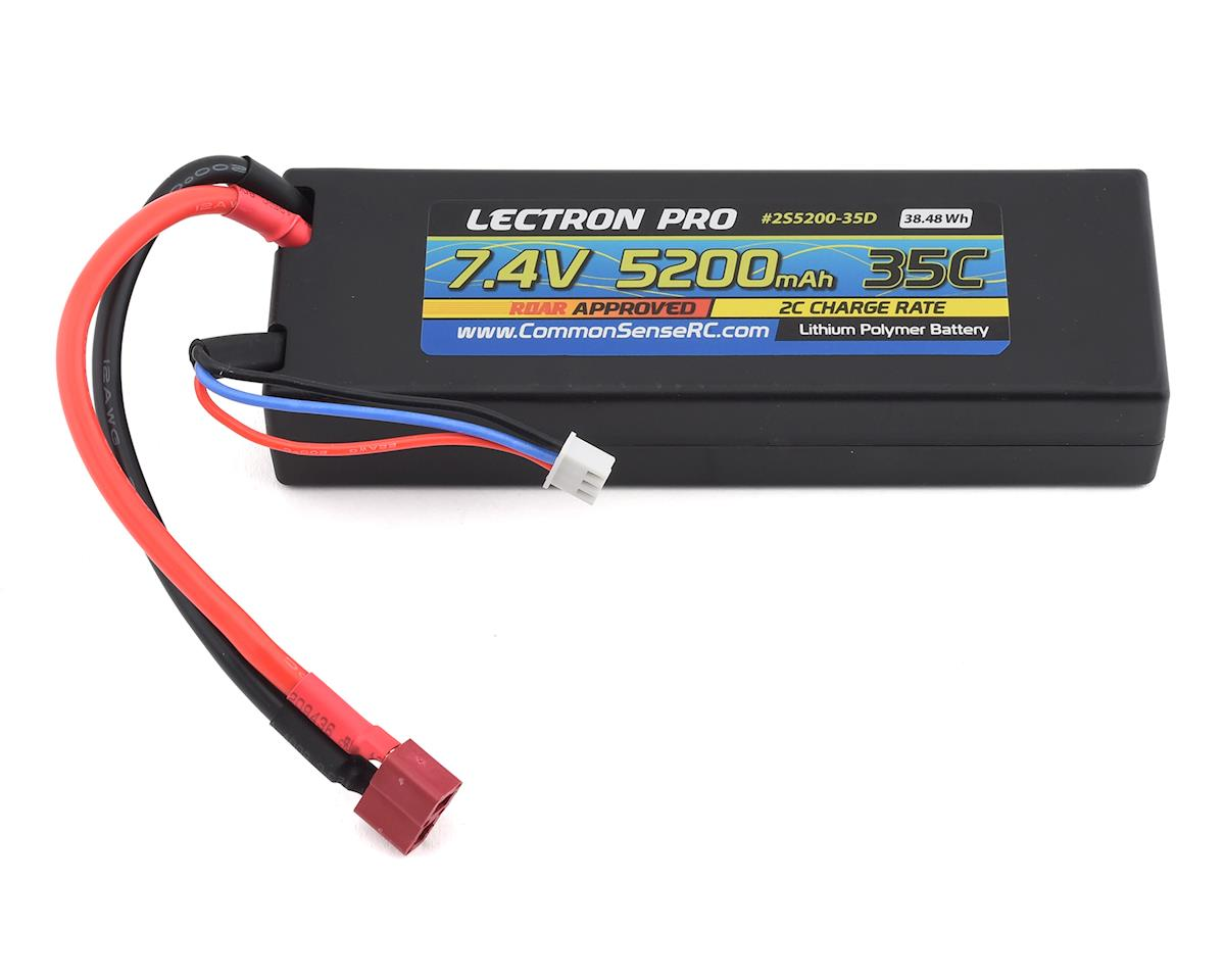 Common Sense RC Lectron Pro 2S 35C LiPo Battery w/T-Style (7.4V/5200mAh)