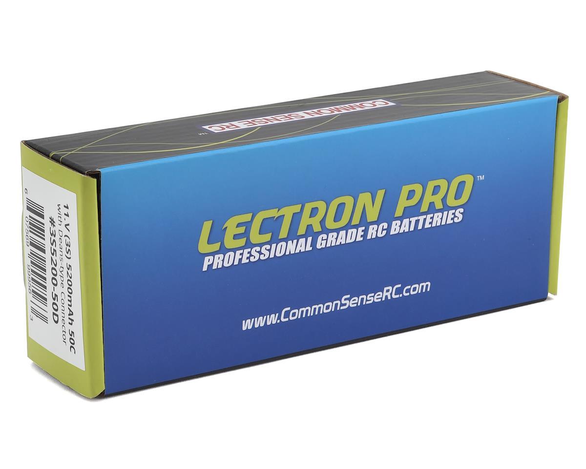 Common Sense RC Lectron Pro 3S 50C LiPo Battery w/T-Style (11.1V/5200mAh)
