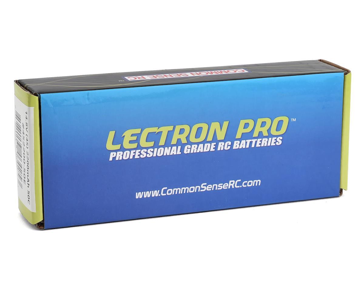 Common Sense RC Lectron Pro 4S 50C LiPo Battery (14.8V/2200mAh)