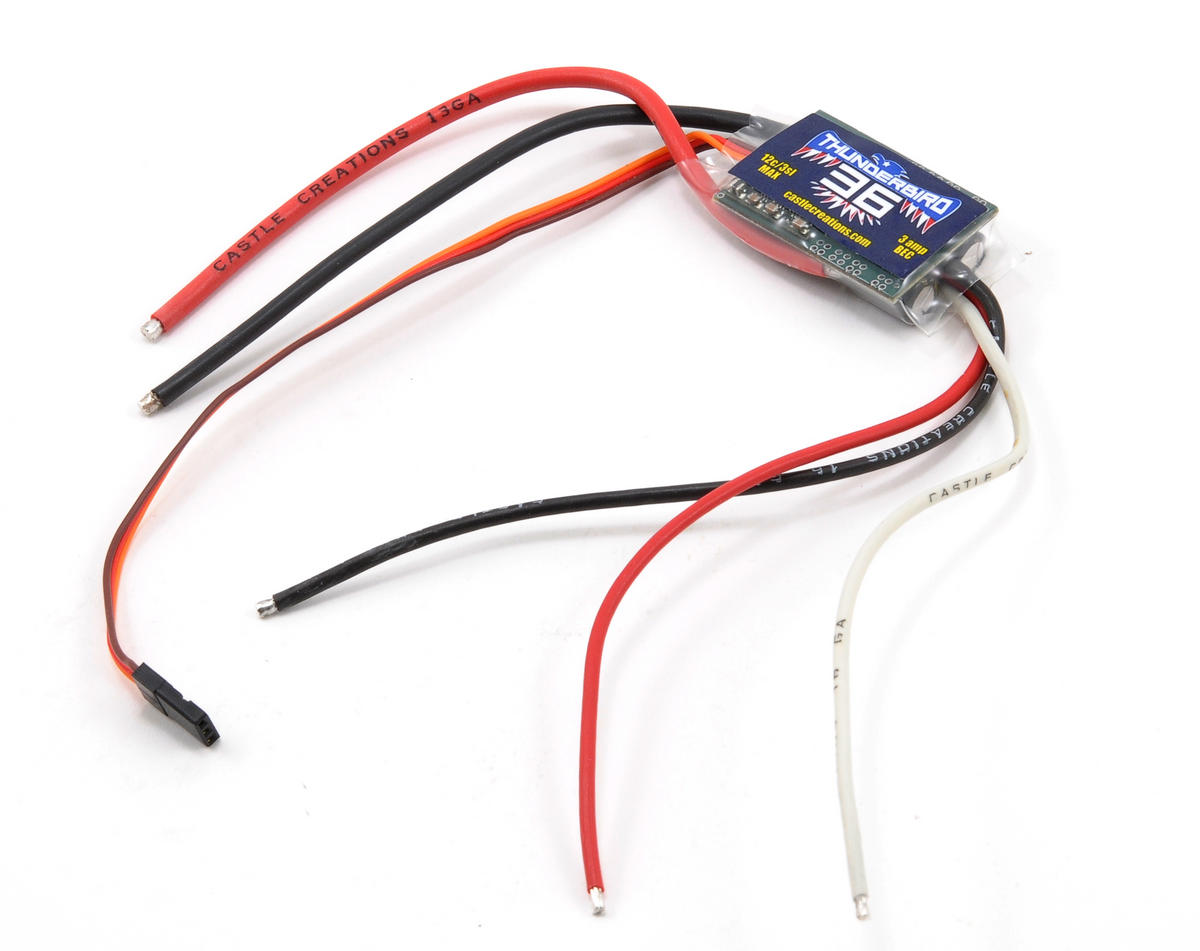 Castle Creations Thunderbird 36-Amp Brushless ESC