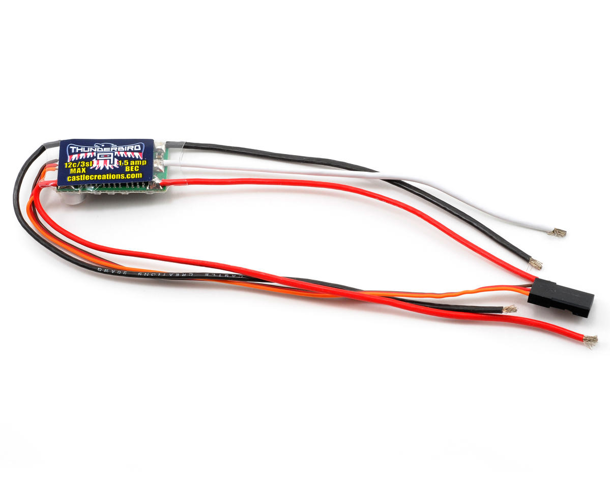 Castle Creations Thunderbird Brushless ESC (9 Amp)