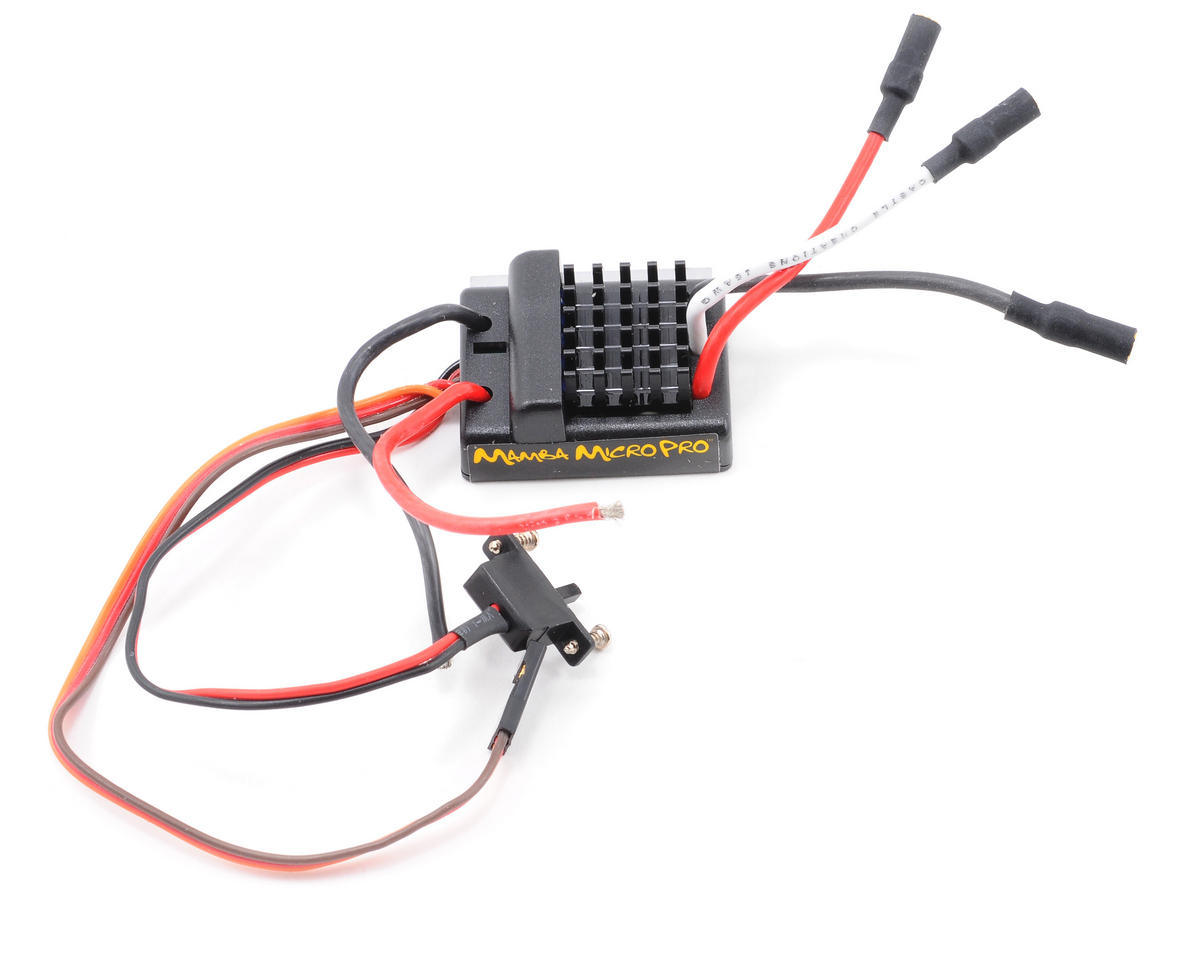 Castle Creations Mamba Micro Pro 1/18th Scale Extreme Brushless ESC