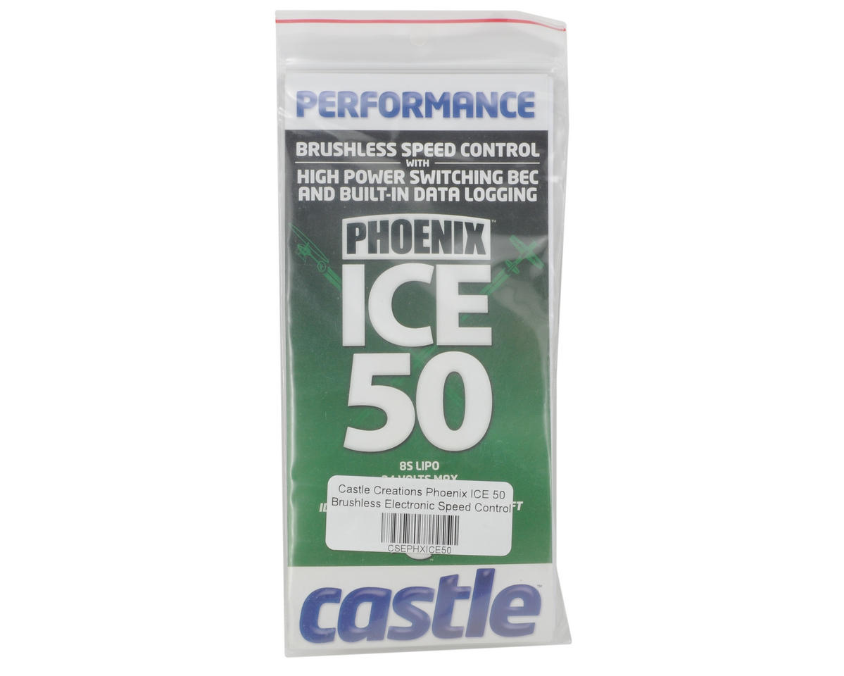 Castle Creations Phoenix ICE 50 Brushless Electronic Speed Control