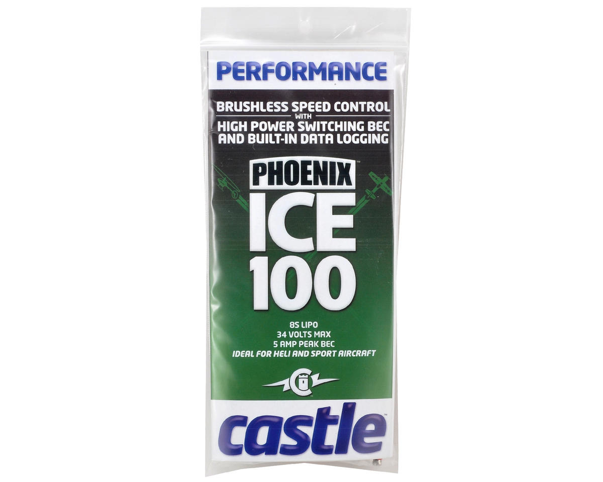 Castle Creations Phoenix ICE 100 Brushless Electronic Speed Control