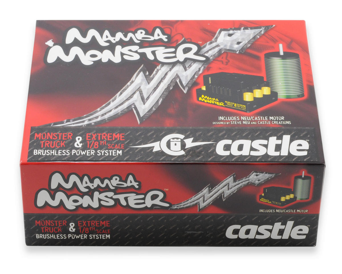 Castle Creations Mamba Monster 1/8th Scale Brushless Car Package (2650kV)
