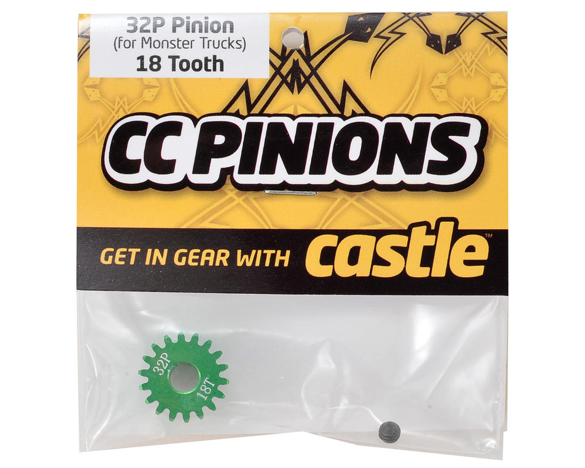 Castle Creations 32P Pinion Gear w/5mm Bore (18T)