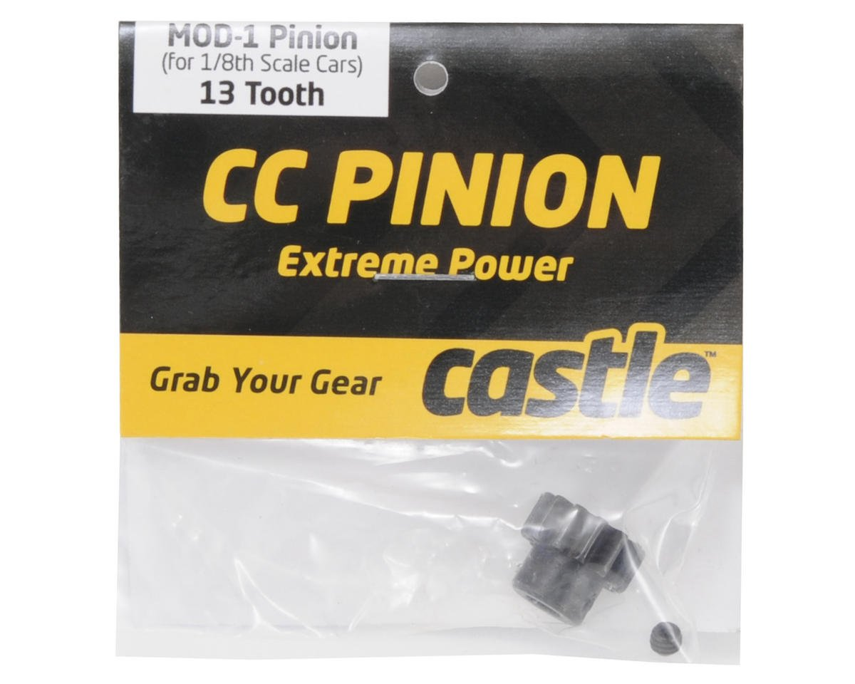 Castle Creations Mod 1 Pinion Gear w/5mm Bore (13T)