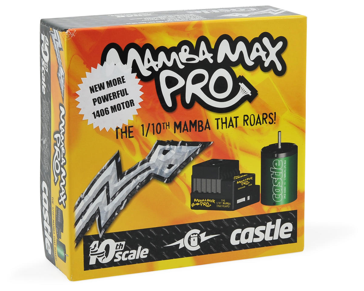 Castle Creations Mamba Max Pro 1/10 Scale Brushless Car Package (7700kV)