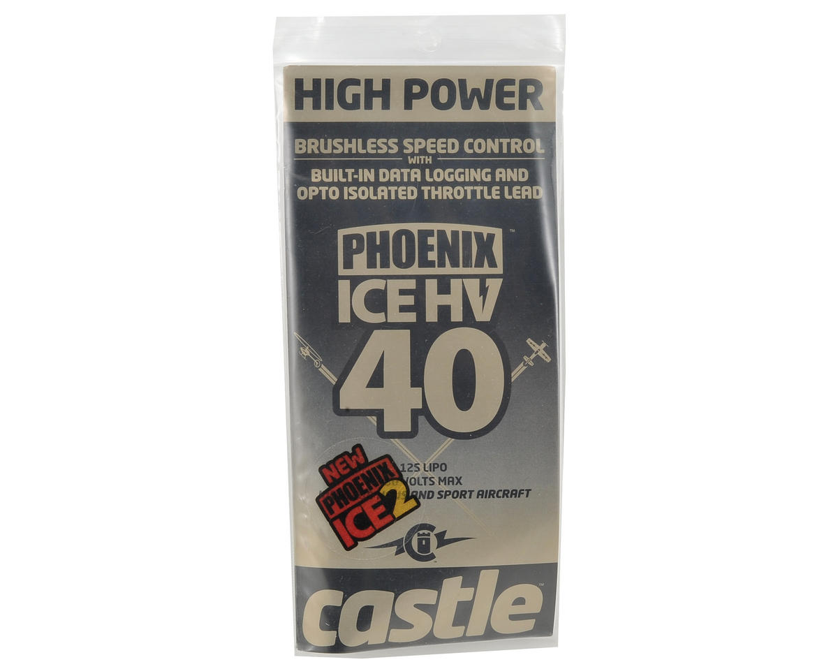 Castle Creations Phoenix ICE2 HV 40 Brushless ESC