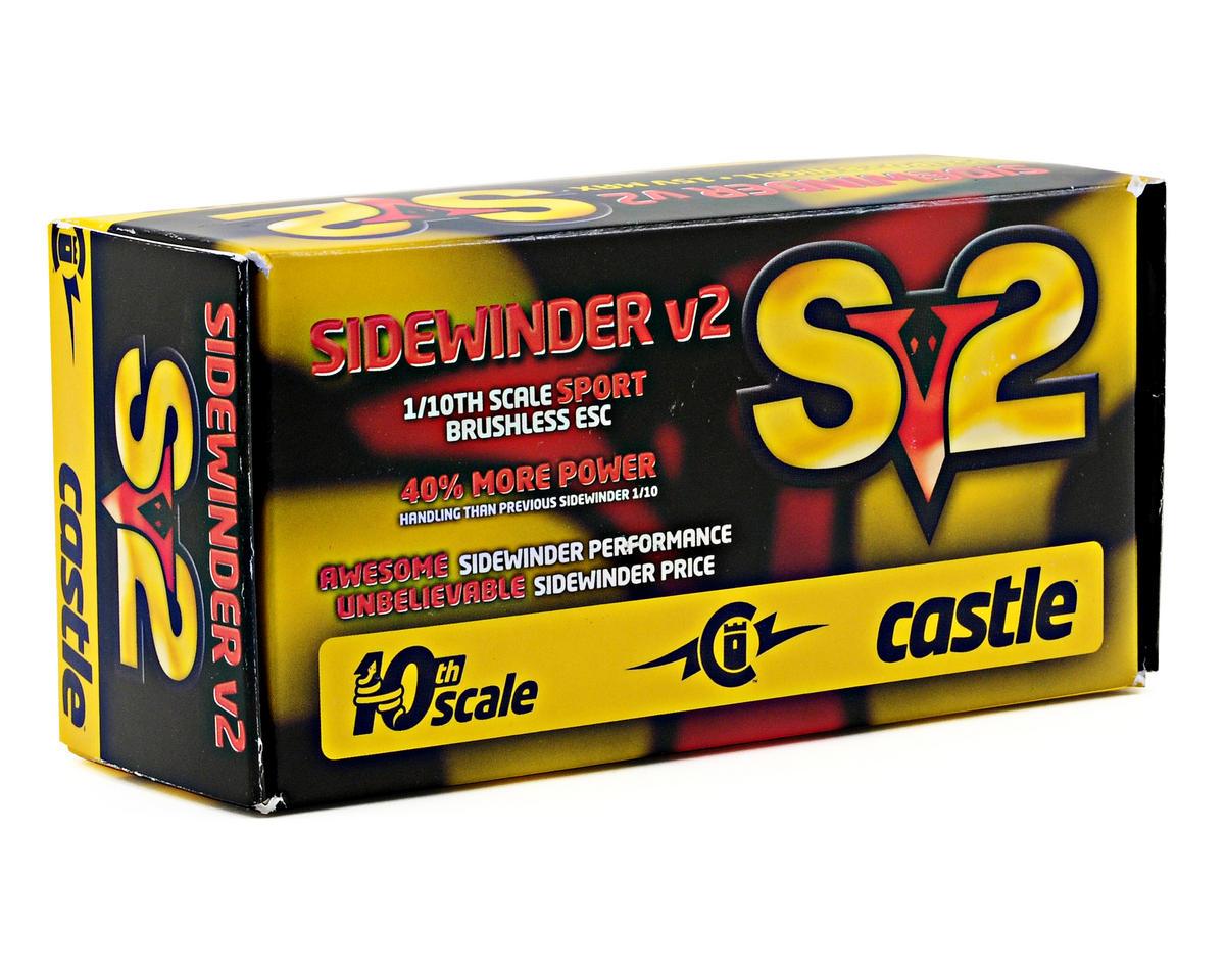 Castle Creations Sidewinder Sv2 1/10 12V Sport ESC