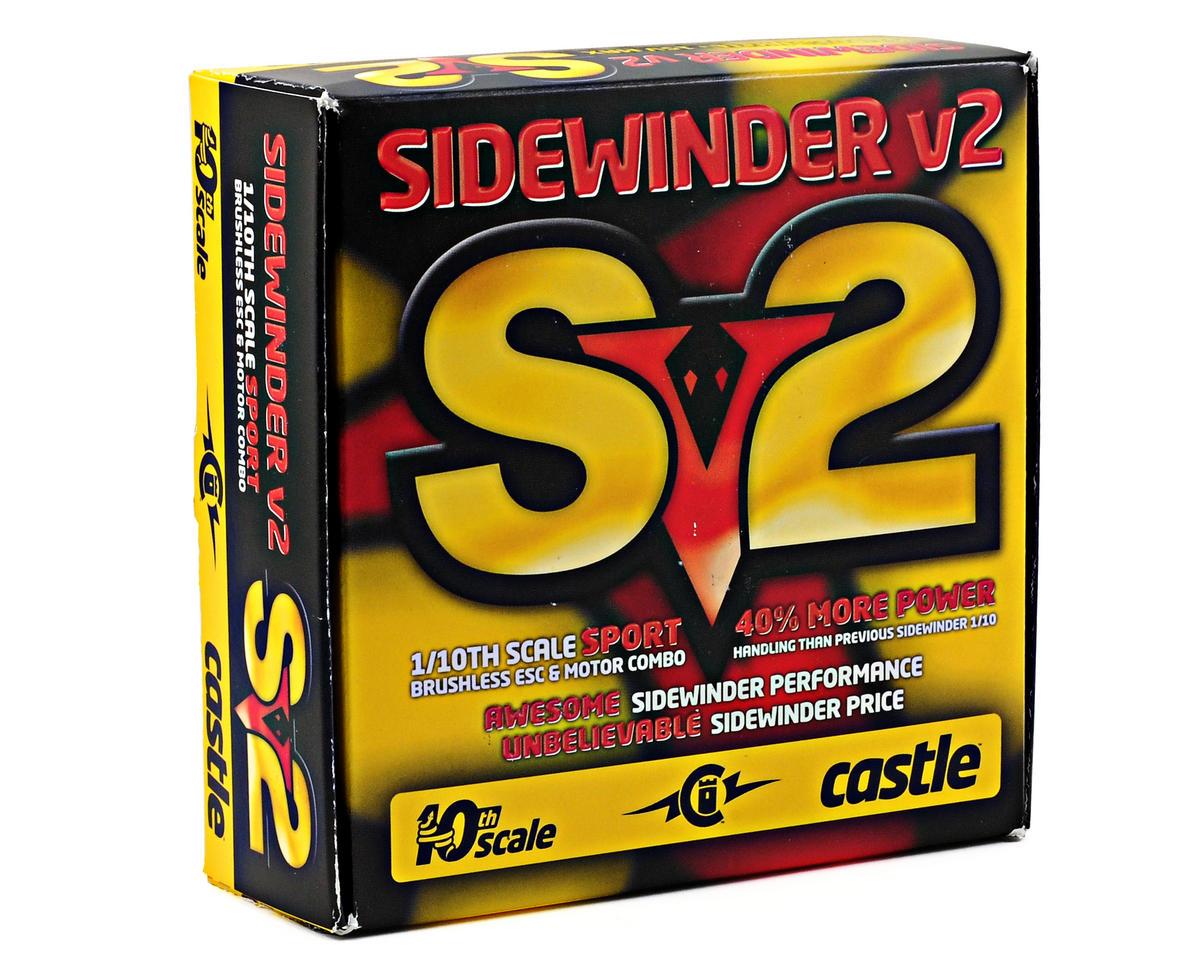 Castle Creations Sidewinder Sv2 1/10 12V Sport ESC/Motor Combo w/Neu-Castle 1406 (5700kV)