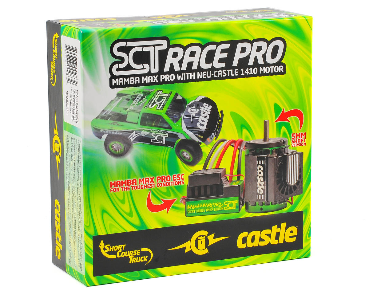 Castle Creations Mamba Max Pro SCT 1/10 Scale Brushless Combo (3800kV)