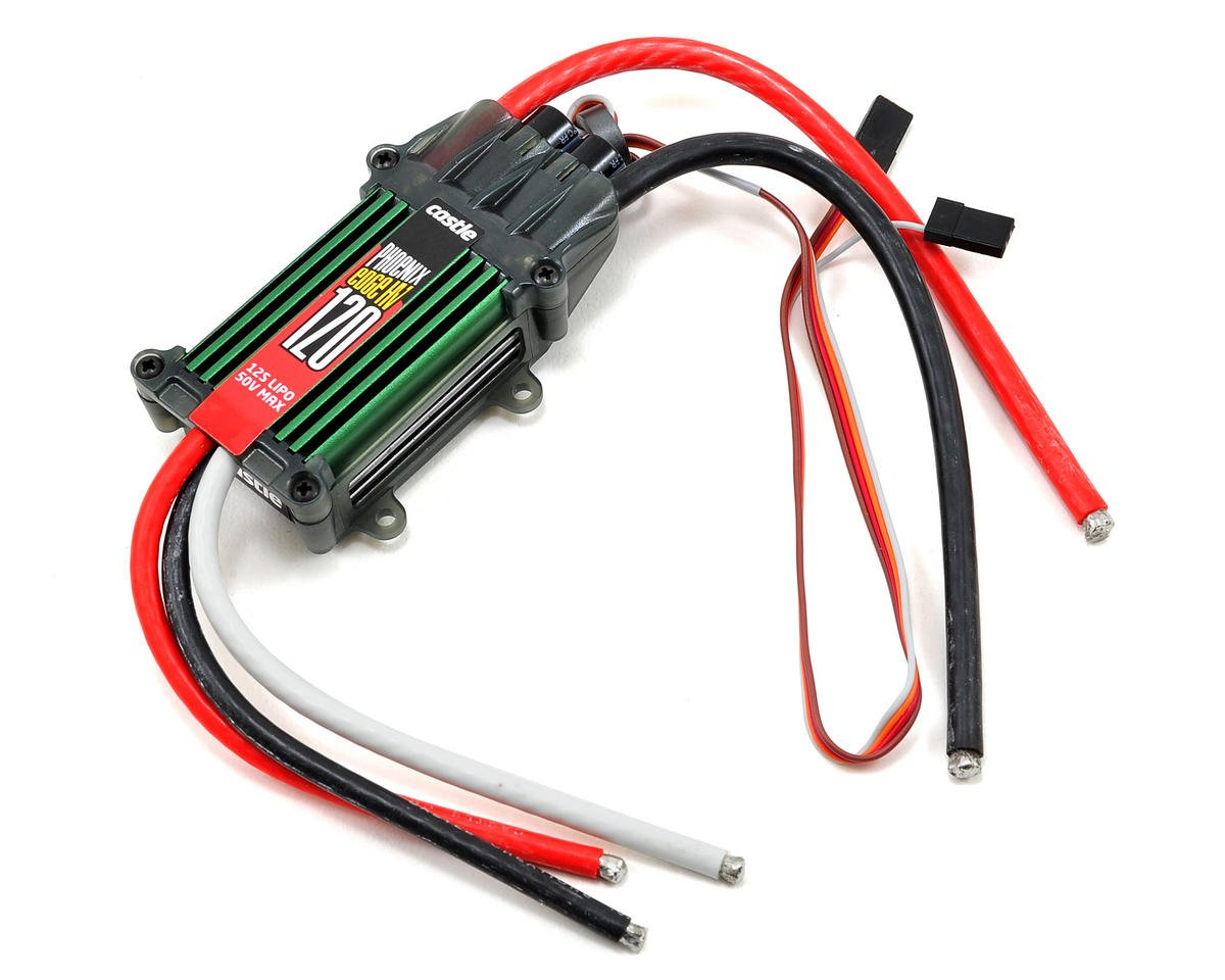 Phoenix Edge 120HV 50V 120-Amp ESC by Castle Creations