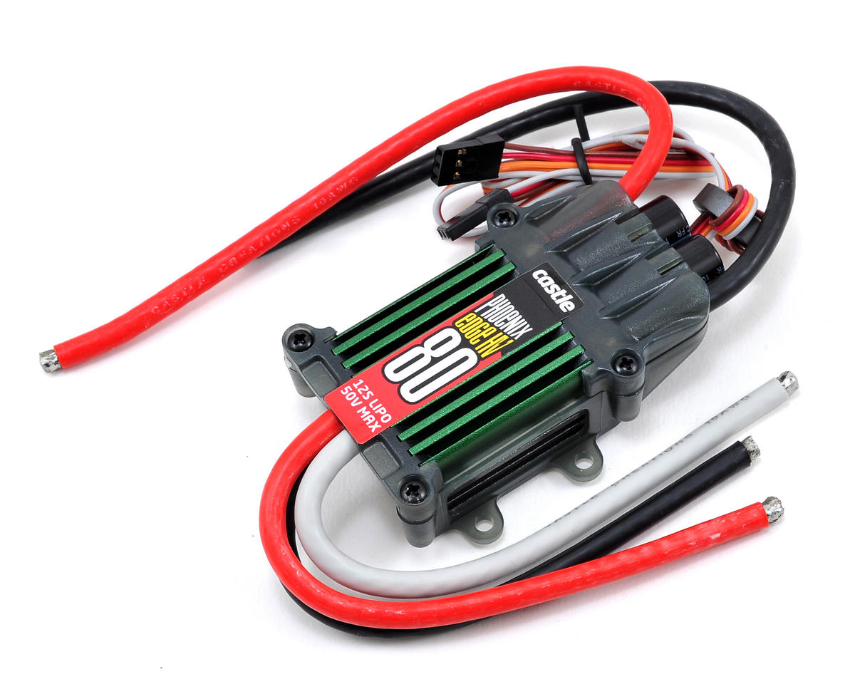 Castle Creations Phoenix Edge 80HV 50V 80-Amp ESC | relatedproducts