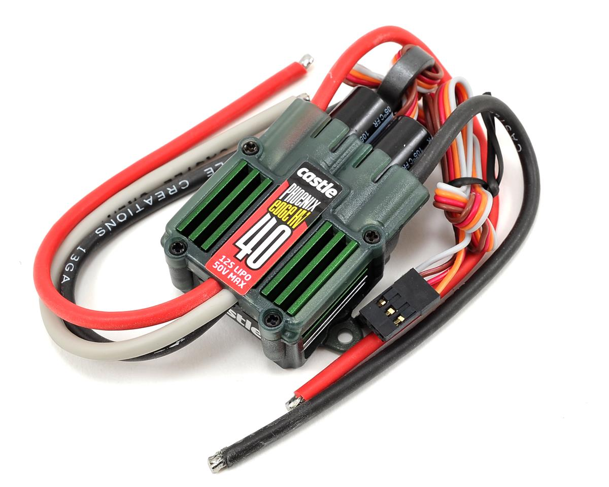 Image 1 for Castle Creations Phoenix Edge 40HV 50V 40-Amp ESC