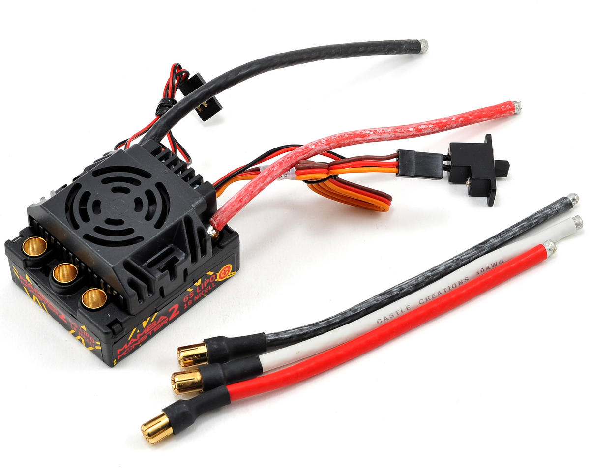 Mamba Monster 2 1/8th Scale Brushless ESC by Castle Creations