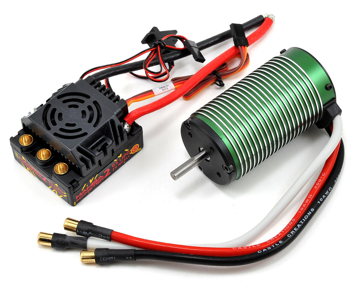 Mamba Monster 2 1/8 Scale Brushless Car Package (2200kV)