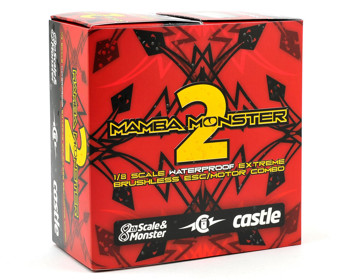Castle Creations Mamba Monster 2 1/8 Scale Brushless Car Package (2200kV)