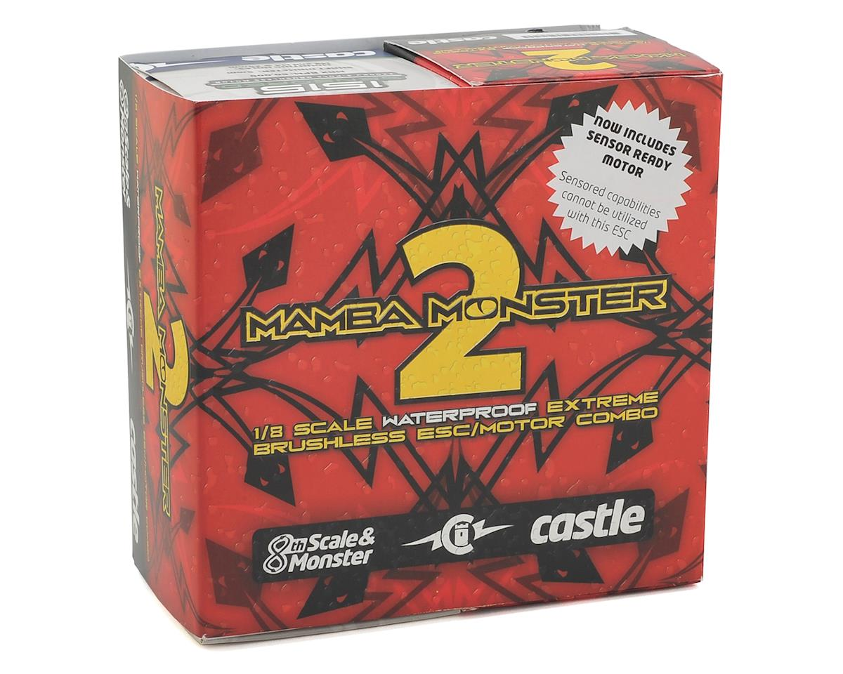 Castle Creations Mamba Monster 2 Waterproof 1/8 Scale Brushless Combo (2200Kv)