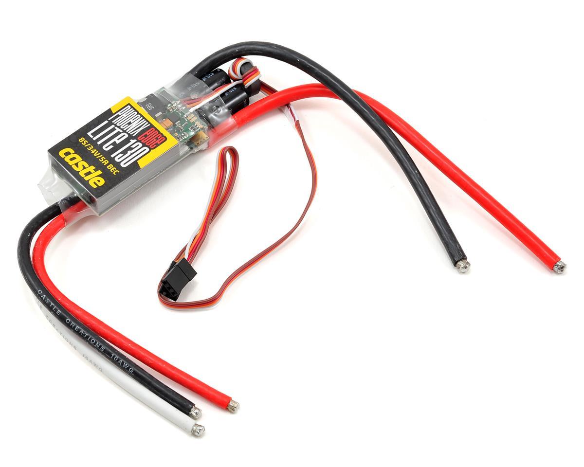 Phoenix Edge Lite 130 25V 130-Amp Brushless ESC w/5-Amp BEC by Castle Creations