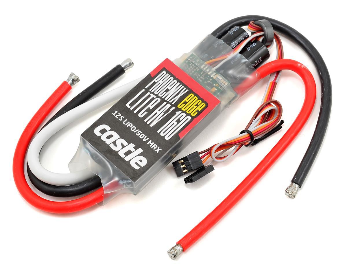 Phoenix Edge Lite 160HV 50V 160-Amp ESC by Castle Creations