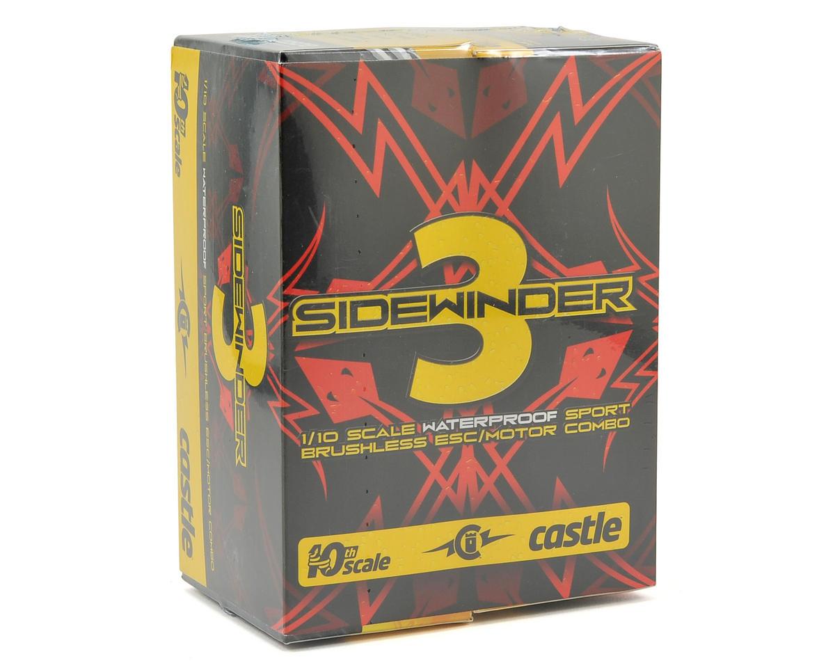 Castle Creations Sidewinder 3 Waterproof 1/10 Sport ESC/Motor Combo (4600kV)