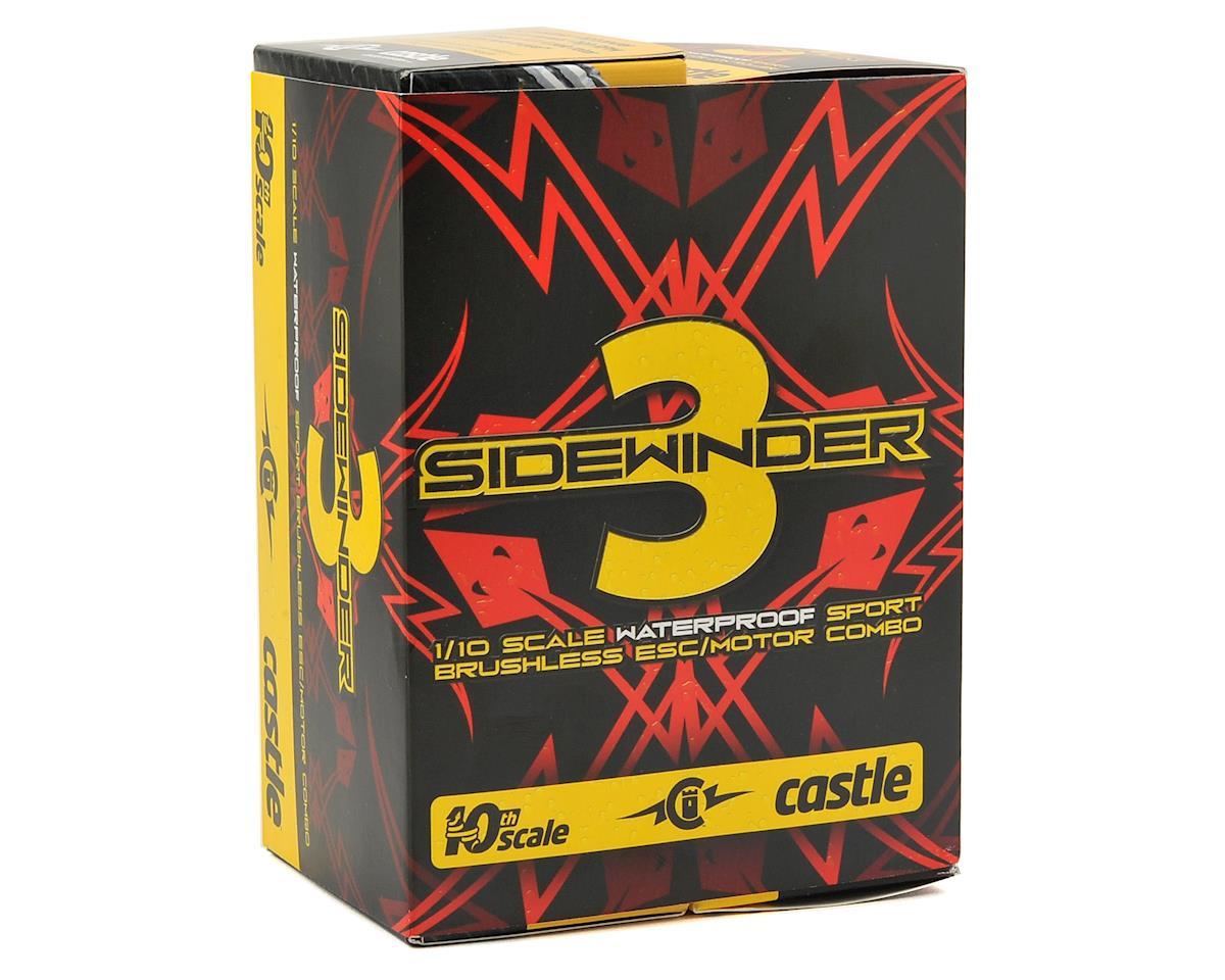 Castle Creations Sidewinder 3 Waterproof 1/10 Sport ESC/Motor Combo (5700kV)