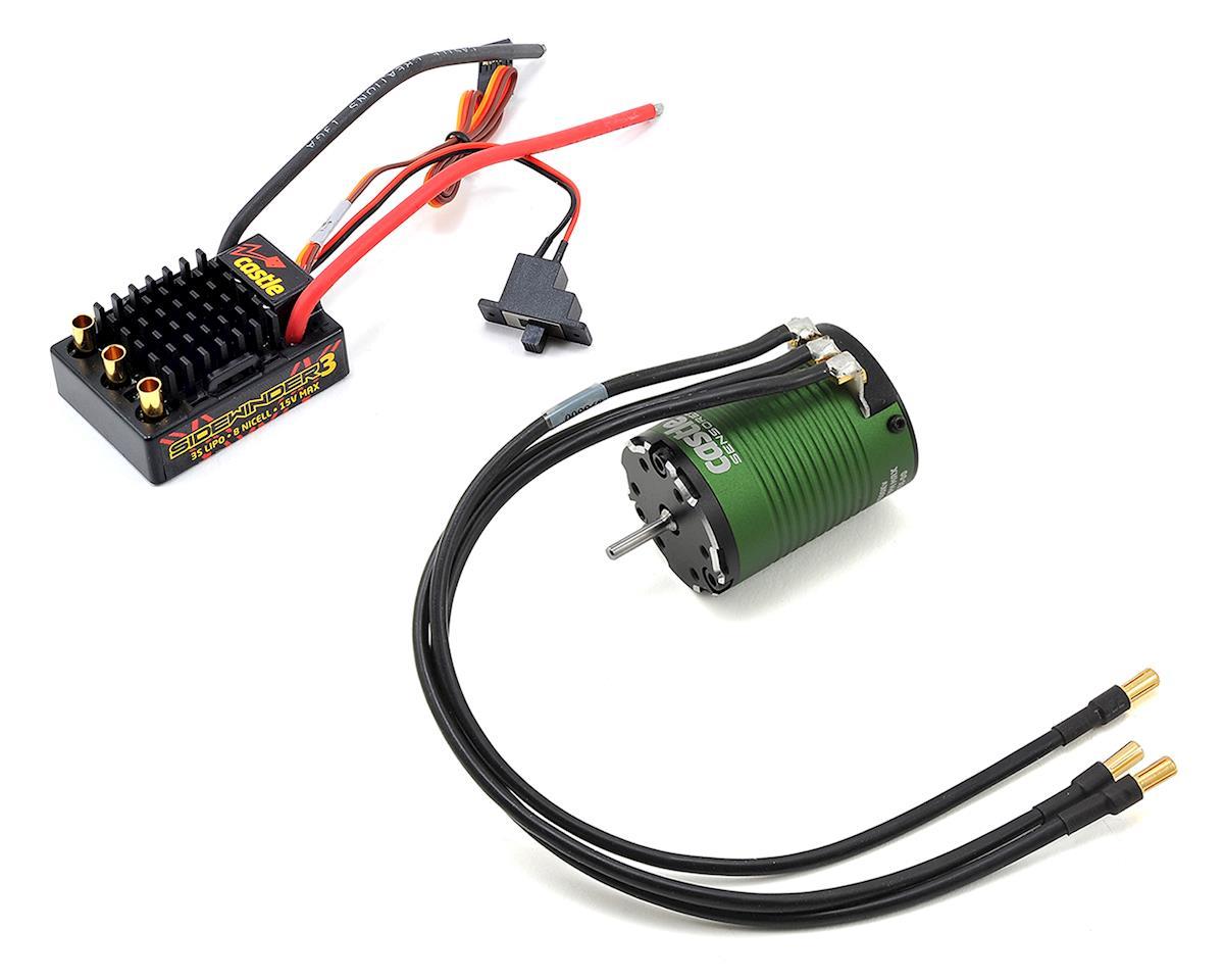 Sidewinder 3 WP 1/10 ESC/Motor Combo (5700kV) by Castle Creations