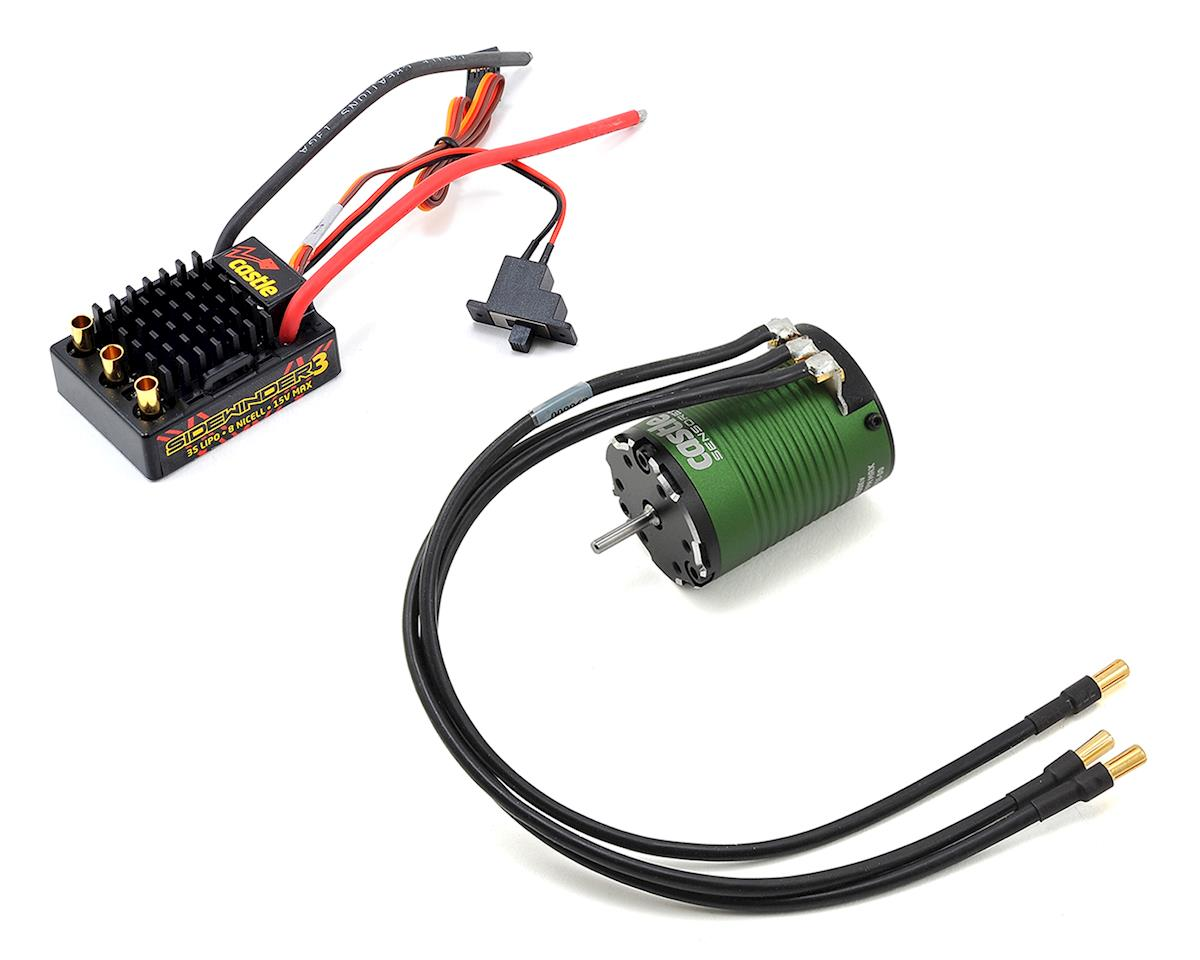 Sidewinder SV3 Waterproof 1/10 ESC/Motor Combo (6900kV) by Castle Creations