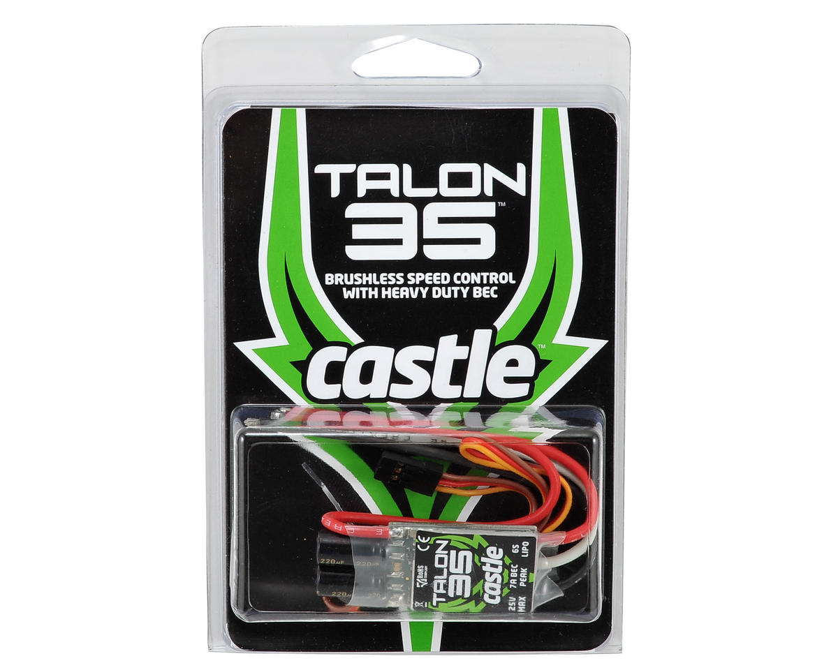 Talon 35 Brushless ESC by Castle Creations