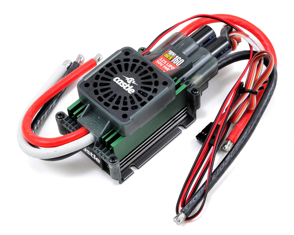 Phoenix Edge 160HVF 50V 160-Amp ESC w/Fan by Castle Creations