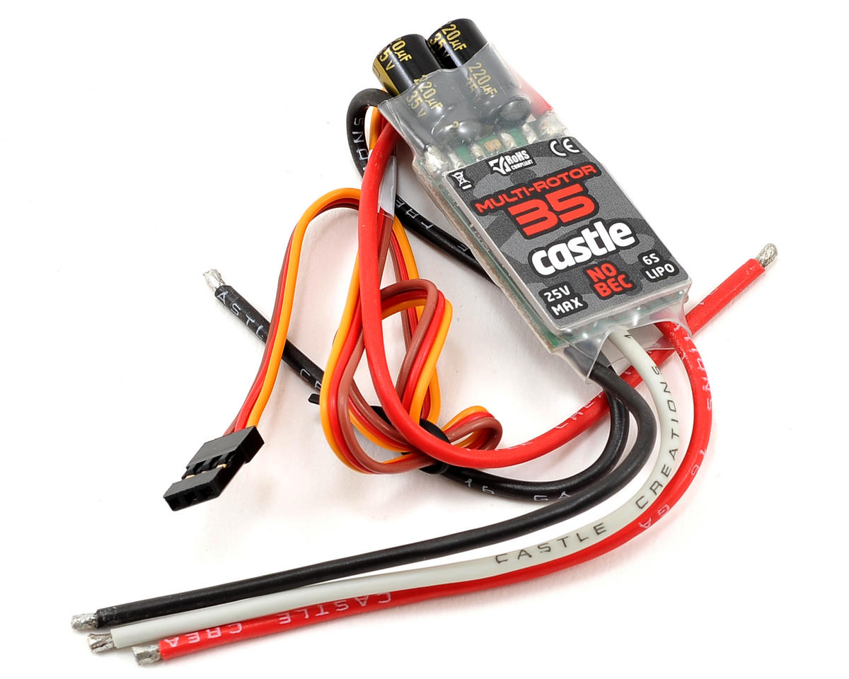 Castle Creations Multi Rotor 35 Expansion Pack 35-Amp ESC (No BEC)