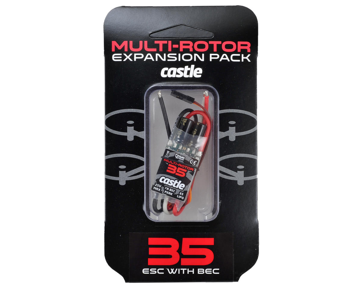 Castle Creations Multi Rotor 35 Expansion Pack 35-Amp ESC w/BEC