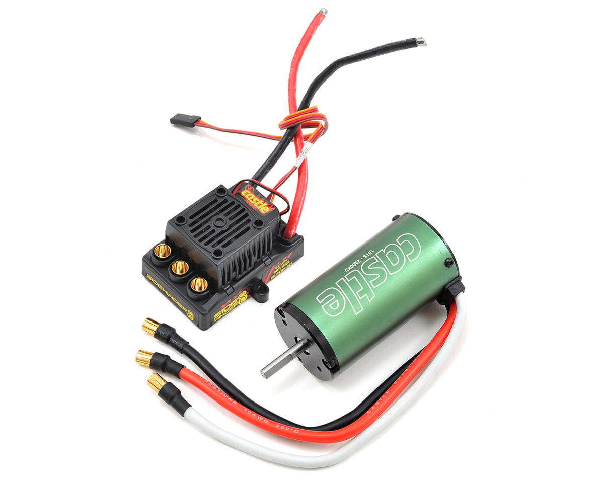 """Castle Creations """"Sidewinder 8th"""" 1/8 Scale Brushless Car Package (2200kV)"""