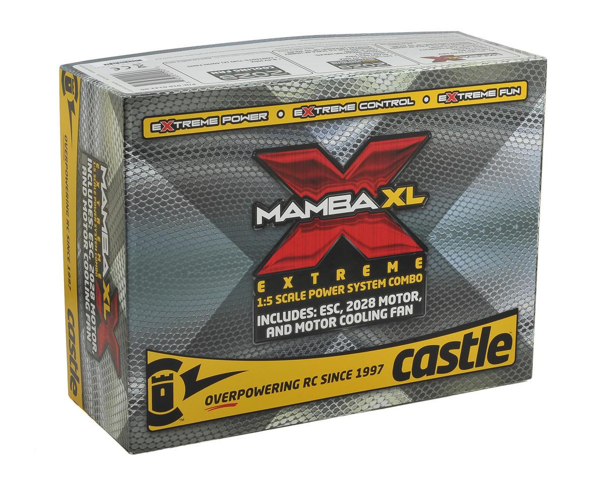 Castle Creations Mamba XL X 1/5 ESC/Motor Combo w/Neu-Castle 2028 (800Kv)