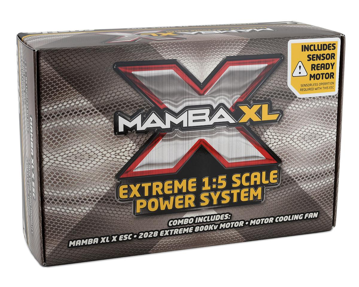 Image 5 for Castle Creations Mamba XL X 1/5 ESC/Motor Combo w/2028 Sensored Motor (800Kv)