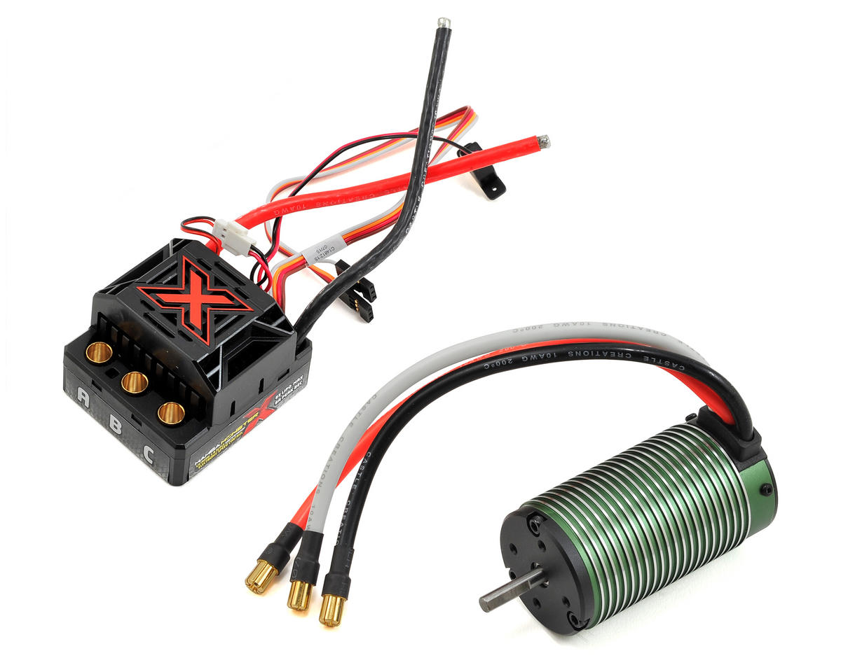 Castle Creations Mamba Monster X Waterproof 1/8 Scale Brushless Combo (2200Kv)
