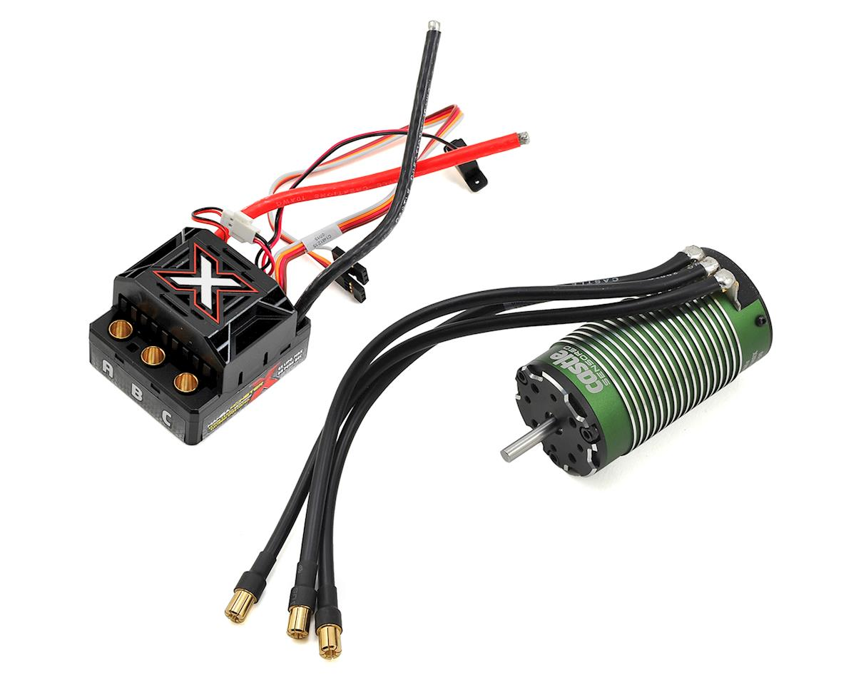 Castle Creations Monster X 1/8 Brushless Combo w/1515 Sensored Motor | relatedproducts
