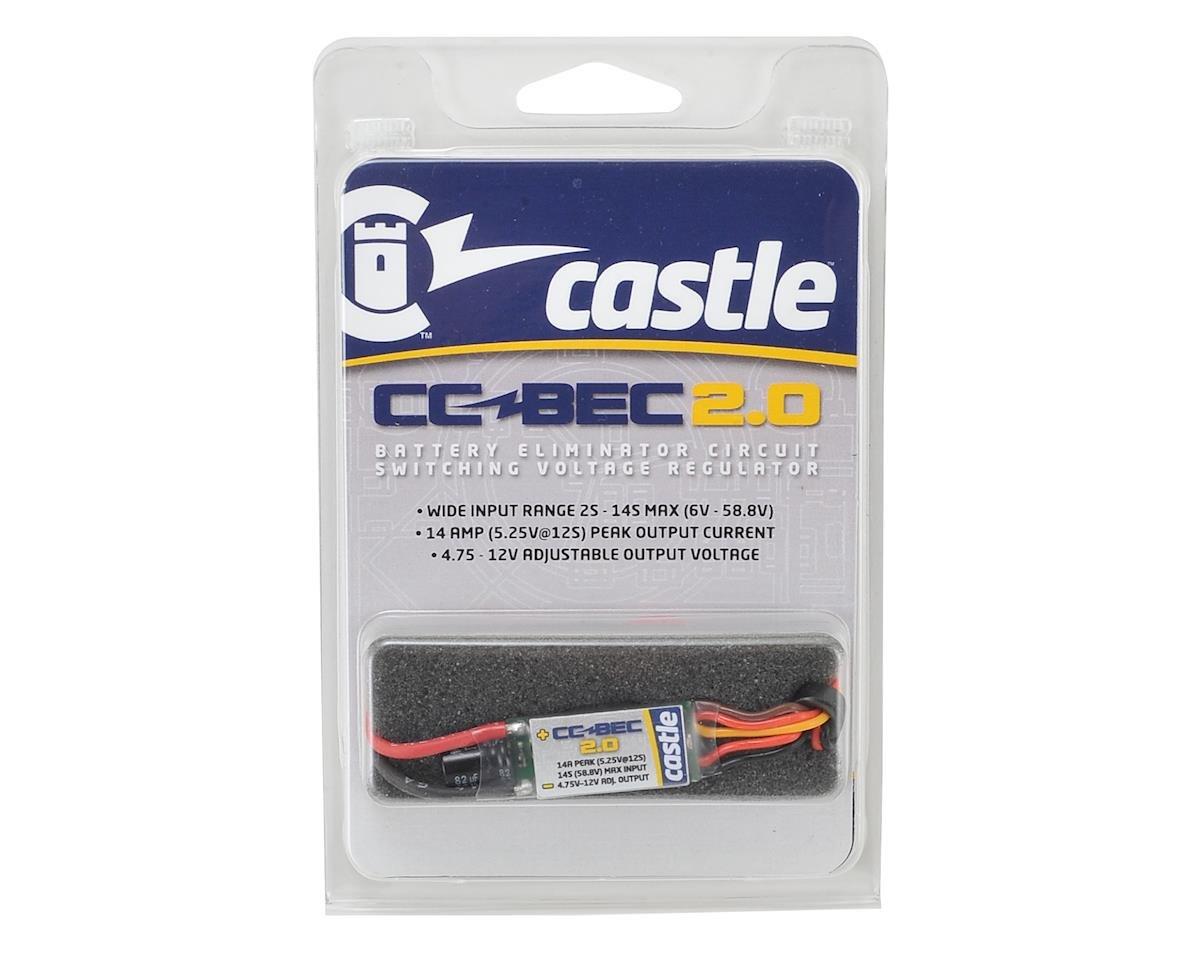 BEC 2.0 BEC Voltage Regulator (14 Amp) by Castle Creations