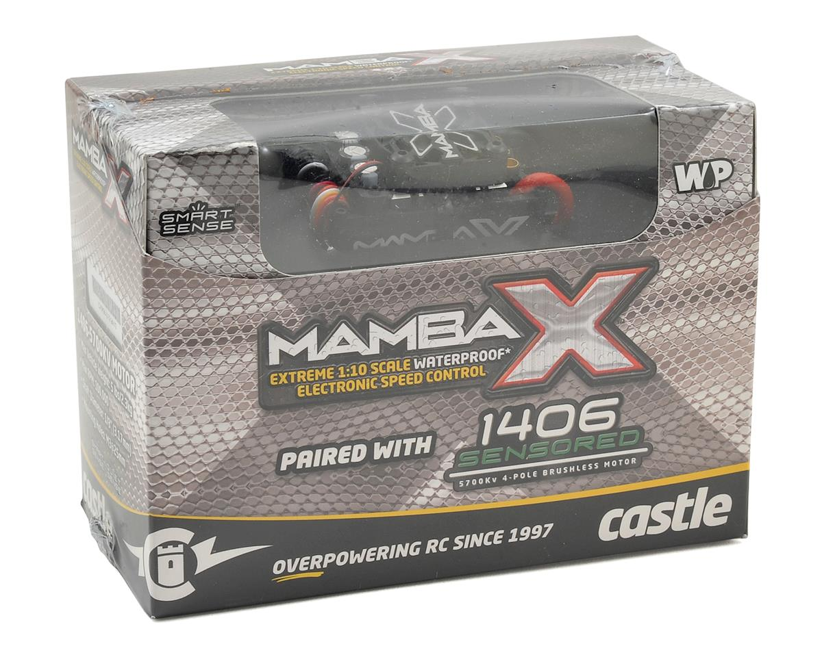 Castle Creations Mamba X 1/10 Brushless Combo w/1406 Sensored Motor