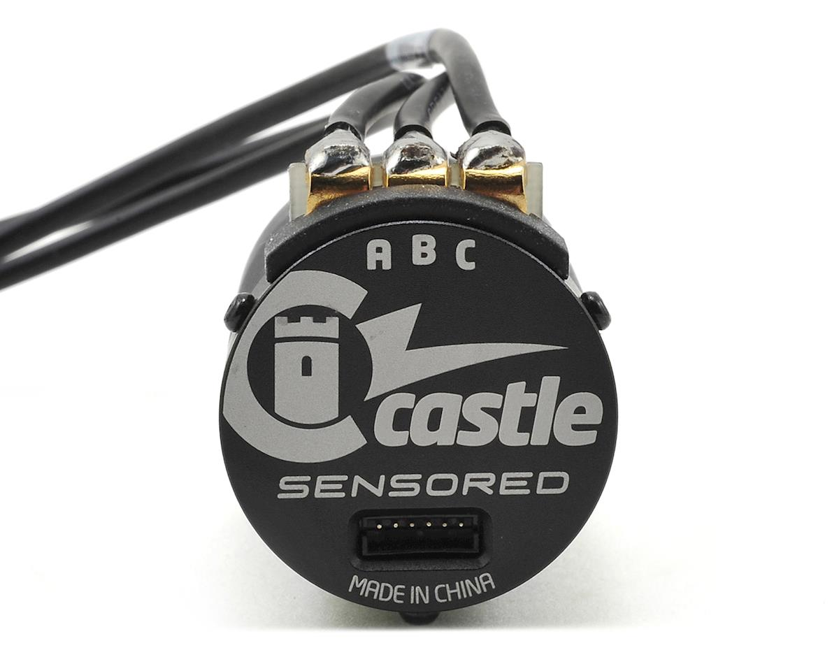 Castle Creations Mamba X Waterproof Sensored Brushless Combo w/1900kV Slate