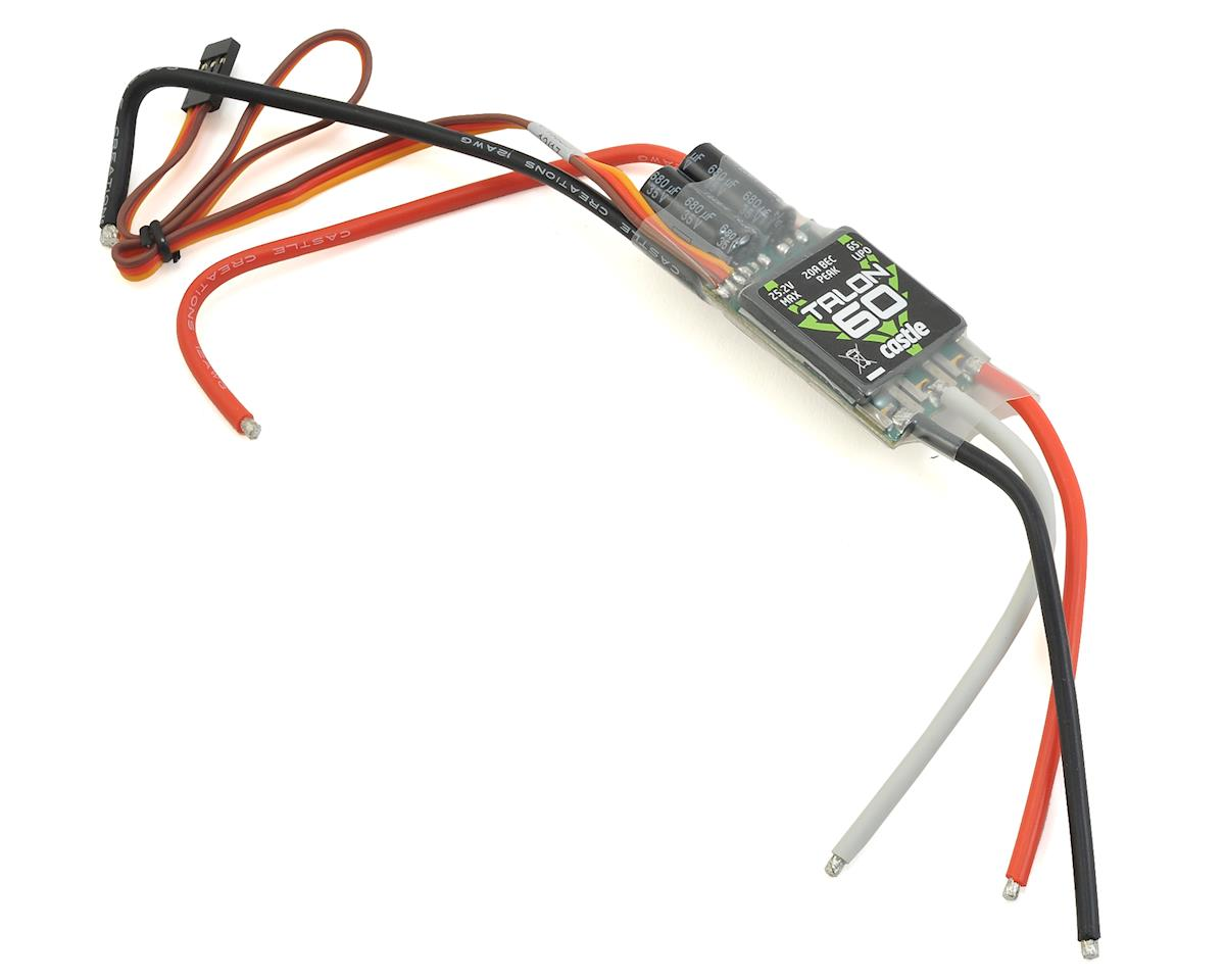 Castle Creations Talon 60 Brushless ESC (Oxy Heli OXY 4)