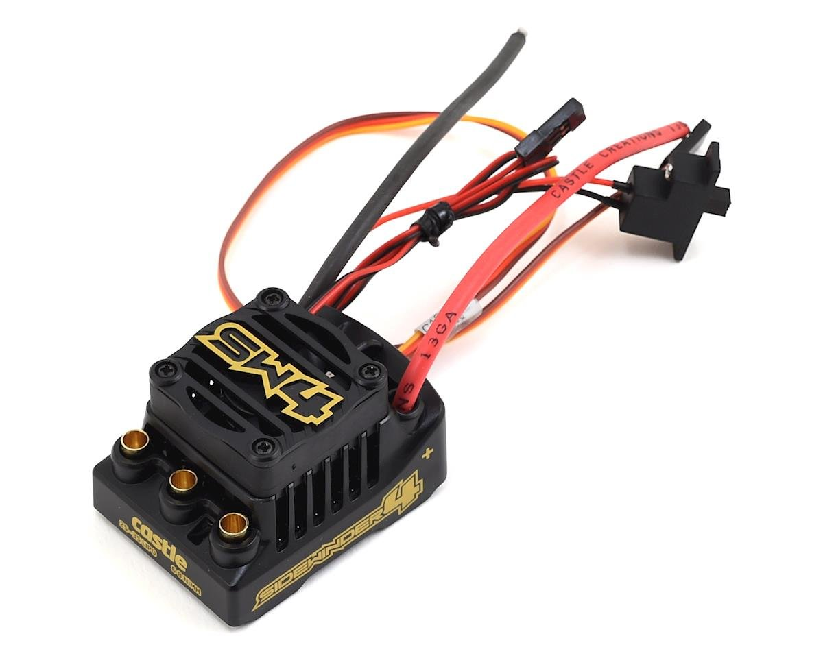 Castle Creations Sidewinder SW4 Waterproof 1/10 ESC