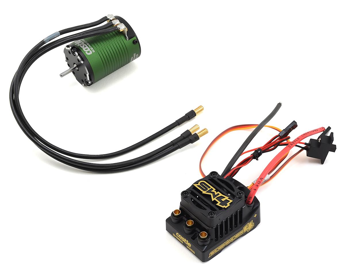 Sidewinder SV4 Waterproof 1/10 ESC/Motor Combo w/1406 (7700kV) by Castle Creations