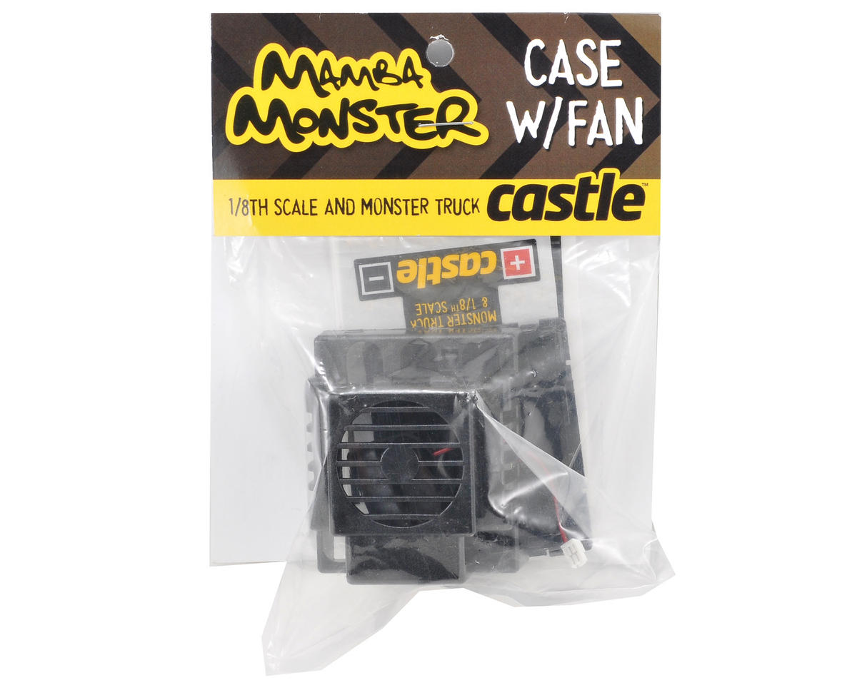 Castle Creations Replacement ESC Case w/Fan (Mamba Monster)