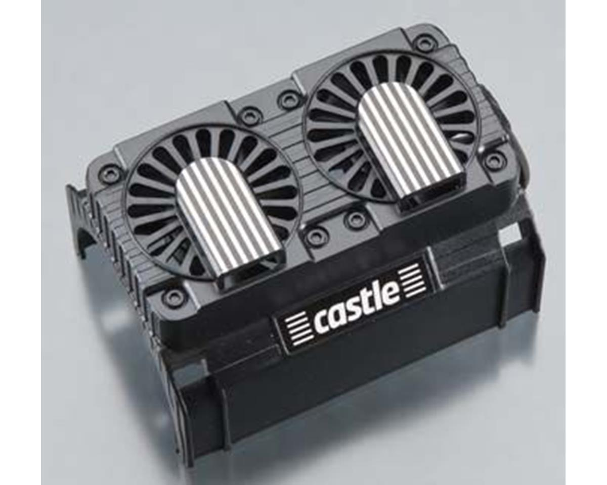 20 Series Dual Fan Shroud w/Fans by Castle Creations