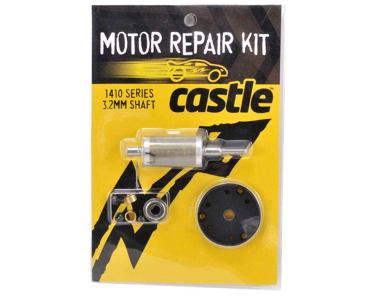 Castle Creations Motor Repair Kit (1410-3800kV w/3.2mm Shaft)